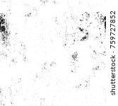 grunge black and white pattern. ...   Shutterstock . vector #759727852