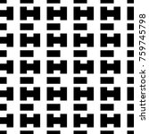 seamless surface pattern design ... | Shutterstock .eps vector #759745798