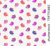 stylish seamless pattern with a ... | Shutterstock . vector #759751882