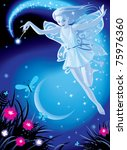 Vector Image Of Luminous Fairy...