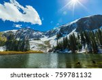 beautiful scenery in telluride  ... | Shutterstock . vector #759781132