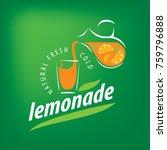 logo for lemonade | Shutterstock .eps vector #759796888