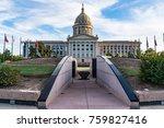 oklahoma capitol building in... | Shutterstock . vector #759827416