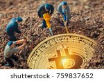 Macro Miner Figurines Digging...