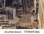 new york  usa   sep 17  2017 ... | Shutterstock . vector #759849286