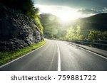 Mountain Road  Jungfrau Region  ...