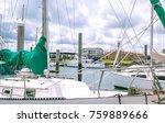 Looking Through Sailboat Yacht...