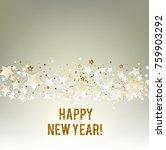 merry christmas  greeting... | Shutterstock .eps vector #759903292