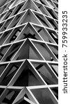 urban geometry modern... | Shutterstock . vector #759933235