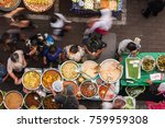top view of a thai street food  ... | Shutterstock . vector #759959308