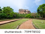sigiriya or sinhagiri is an... | Shutterstock . vector #759978532