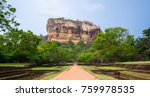 sigiriya or sinhagiri is an... | Shutterstock . vector #759978535