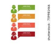 creative infographic design... | Shutterstock .eps vector #759981466