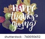 pumpkin  apple  chestnut and... | Shutterstock . vector #760050652