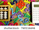 education business and finance... | Shutterstock . vector #760116646