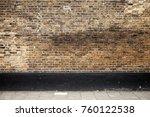 empty urban interior background ...   Shutterstock . vector #760122538