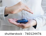 insurance and care protection...   Shutterstock . vector #760124476
