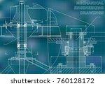 mechanical engineering.... | Shutterstock .eps vector #760128172