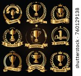award design badges and labels... | Shutterstock .eps vector #760129138