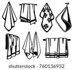 bath  beach and kitchen soft... | Shutterstock .eps vector #760136932