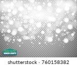 shining bokeh isolated on... | Shutterstock .eps vector #760158382