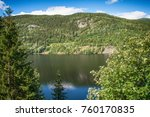 beautiful nature in norway | Shutterstock . vector #760170835