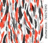 seamless nordic pattern. ethnic ... | Shutterstock .eps vector #760175392