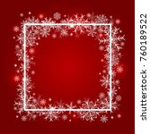 christmas background design of... | Shutterstock .eps vector #760189522