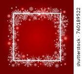 christmas background design of... | Shutterstock .eps vector #760189522