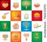 logo for lemonade | Shutterstock .eps vector #760215292