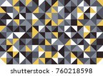 abstract retro pattern of... | Shutterstock .eps vector #760218598