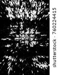 grunge black and white pattern. ...   Shutterstock . vector #760224415