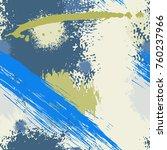 splash brush strokes seamless... | Shutterstock .eps vector #760237966