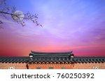 korean new year's day background | Shutterstock . vector #760250392