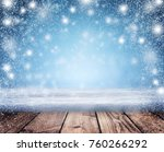christmas holiday background ... | Shutterstock . vector #760266292