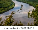 river vishera. the perm region  ... | Shutterstock . vector #760278712