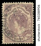 Small photo of Netherlands - stamp printed in1899, Heads of State, Queens, Queen Wilhelmina