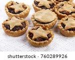 traditional homemade fruit... | Shutterstock . vector #760289926