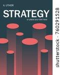book cover creative concept....   Shutterstock .eps vector #760291528