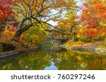 seoul  changdeokgung palace at... | Shutterstock . vector #760297246