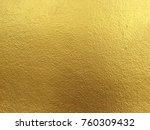 gold color concrete wall... | Shutterstock . vector #760309432