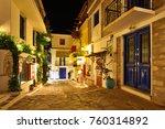skiathos town  skiathos island  ...   Shutterstock . vector #760314892