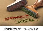 3d illustration of two rubber... | Shutterstock . vector #760349155