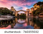 Mostar  Old City In Bosnia