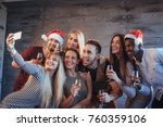 group beautiful young people... | Shutterstock . vector #760359106