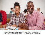 college student has individual...   Shutterstock . vector #760369582