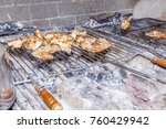 there's more to grilling than... | Shutterstock . vector #760429942