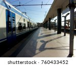 train station  salerno  south... | Shutterstock . vector #760433452