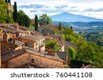 Landscape Of The Tuscany Seen...