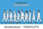 vector illustration full length ... | Shutterstock .eps vector #760441375